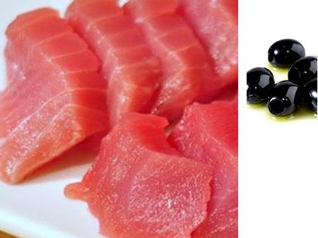 Spezzatino di Tonno con olive nere